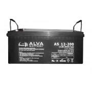 Гелевый аккумулятор ALVA AS12-200 Solar GEL 12В/200Ач