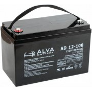 Аккумулятор ALVA AD12-100 12В/100Ач AGM