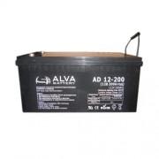 Аккумулятор ALVA AD12-200 12В/200Ач AGM